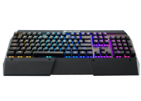 Cougar Attack X3 RGB Backlit Cherry MX Speed Silver Switch Mechanical Gaming Keyboard